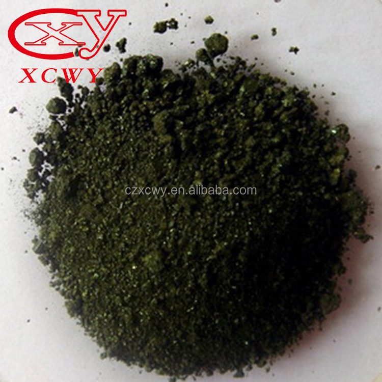 High quality appearance dark green powder basic magenta dye for paper dyeing