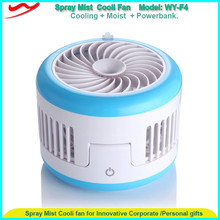 USB charge mini mist cooling system portable water spray cooling fan water mist fan