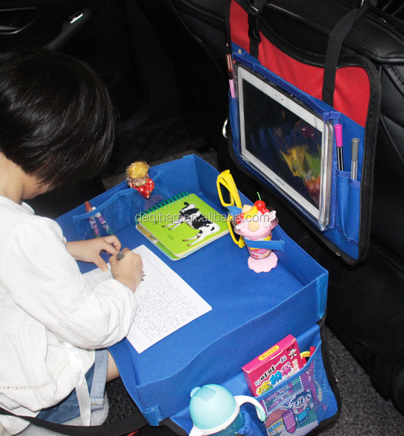 2 in 1 factory designed car backseat travel tray kids tray