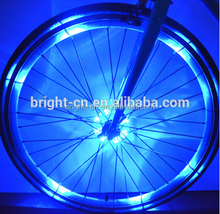New Bike Cycling Hubs Lights Front/Rear Bicycle Light Spoke Decoration Warning LED Wheel Lamp Waterproof Bike Accessories
