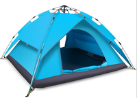 New Double Layer Automatic Family Camping Tent Manufacturer
