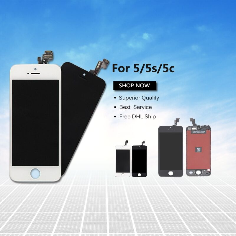 original replacement screen lcd for apple iphone 5s and lcd display digitizer for iphone 5s