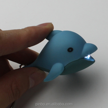 Promotional Plastic Animal Keychain with Light