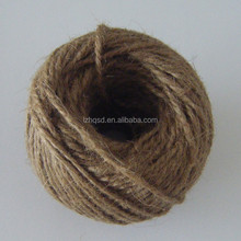100% Jute Material and Eco-Friendly Feature jute yarn and jute twine