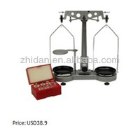 Physical balance 500g /0.02g Student balance teaching apparatus