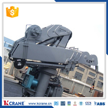 16ton Heavy lift fixed slewing marine crane for sale