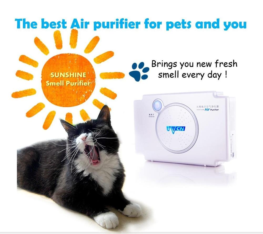 The best air purifier for pet PhotoPlasma Mini pet Purifier smell of sunshine
