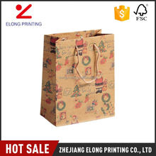 Top selling attractive style package gift shopping large paper bags