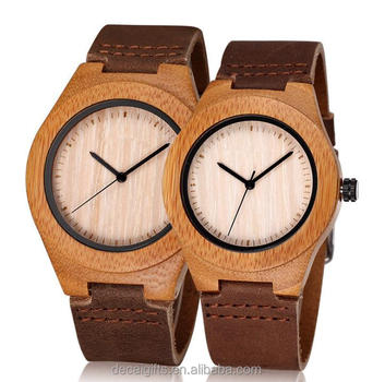 wholesale custom fashion design design bamboo wood watch