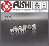 High Speed Metal Ball Bearing 22x8x7