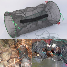 Crab Crayfish Lobster Catcher Pot Trap Fish Net Eel Prawn Shrimp Live Bait