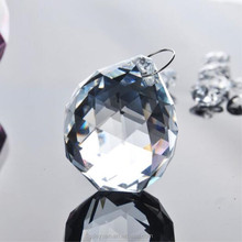 Wholesale 40mm decorative crystal faceted ball for chandelier