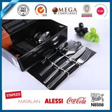 wholesale Delicate 18/10 Stainless Steel Flatware Set, Service for 4 , stock cutlery, hotel dining table set