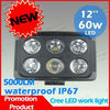 Super bright cree 60w led tractor work light,auto tuning led lights 12V 24V