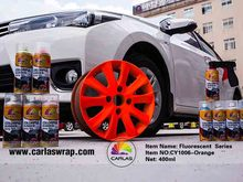 carlas affordable colorful rubber spray film,wheel protection paint,car aerosol wrap