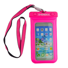 2018 Universal Waterproof Cell Phone Bag Case With neck hanging strap