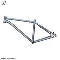 "16"" 42cm size frame gr9 titanium alloy bike frame for moutain bicycle"