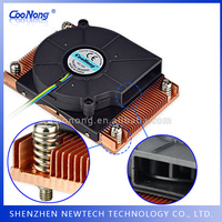 Wholesale CPU /GPU /telecom copper fin heat sink shapes/profiles