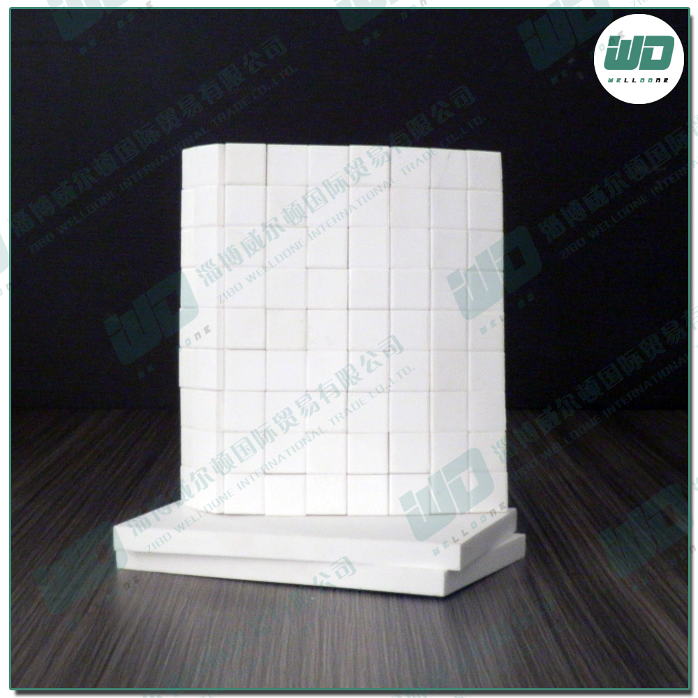 Zibo porcelain,corrosion resistance ceramic mosaic range widely, such as chemical industry,thermal power,cement, etc
