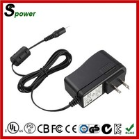 Black Color 12W 12V 1A AC DC Adapter for Xbox 360