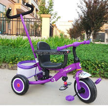 Newest Design Baby Trikes with Push Handle Pedal Bike with Oem Service from Manufactory Wholesale