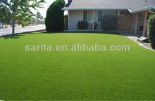 20mm height, green colors with curlve yarn below, monofilament gras yarn, artificial grass carpet