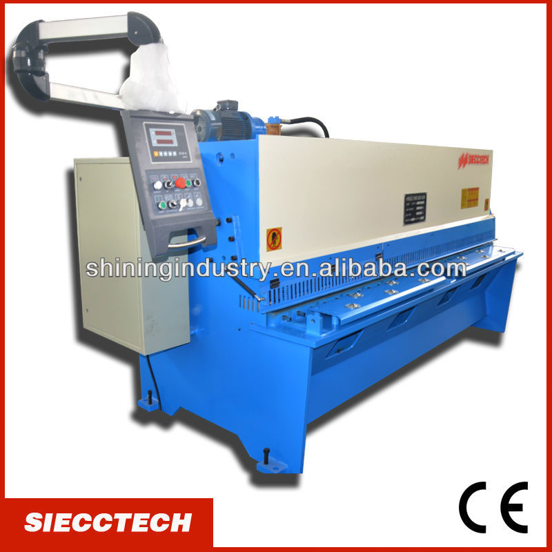 "INT'L QUALITY""SIECCTECH""-QC12Y 12X3200 HYDRAULIC SHEAR MACHINE"
