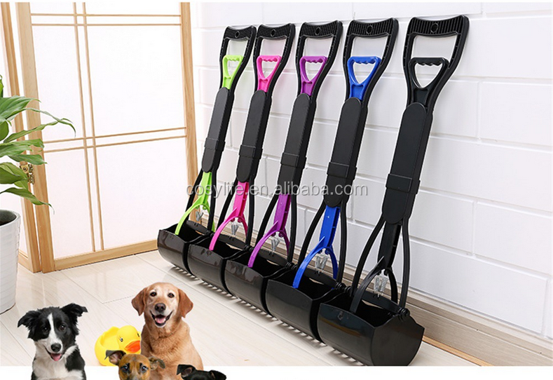 Hot Sale 60CM Portative Eco-Friendly ABS Fold-Away Dog Poop Scooper