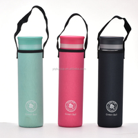 100% BPA Free 500ml fruit infused glass water bottles