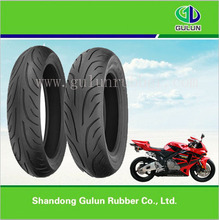 Tubeless motorbike tire 90/65-6.5 350-10 120/60-12 130/60-10 scooter tyre for sale
