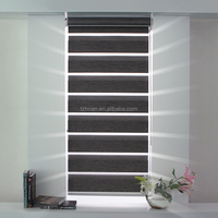 Dim Out Fabric /Light Filtering / Blackout Zebra shade blind