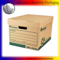 high quality Cardboard box included custom markings
