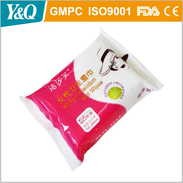 OEM China Factory Personal Care feminine Wet Wipes moist towelettes