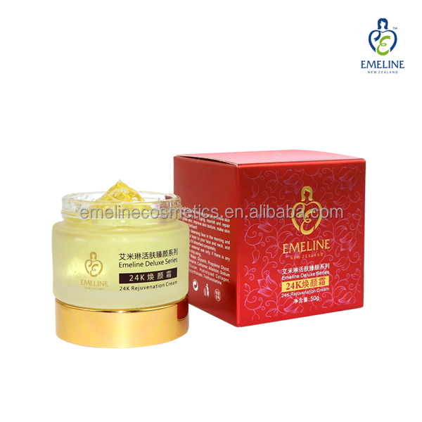 24k gold foil anti aging moistrizing baby skin whitening <strong>face</strong> cream
