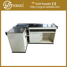 Modern and simple design Cashier desk/Cash register counter