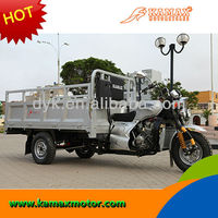 Hydraulic self dumping heavy loading 250cc Cargo Tricycle Chongqing China Tricycle