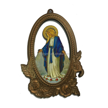 Wood Decoration Catholic/religious saints wall Icon Crucifix