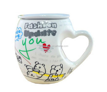 made in china best selling elephant design animal ceramic cup