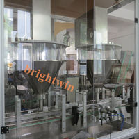 automatic filling machine for coffee powder bottle