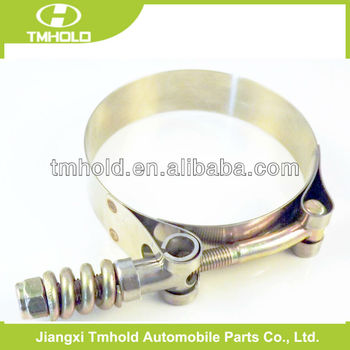 T-spring heavy duty pipe clamp