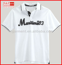 Heavyweight polo shirt producer with embroidery