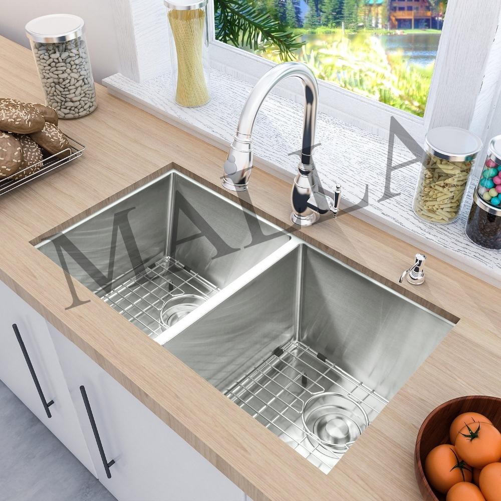 Best Quality Control Double Bowl Industrial Kitchen Stainless Steel Sink