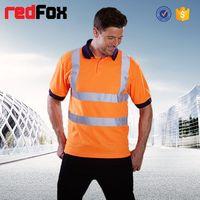 reflective safety uk flag t shirt