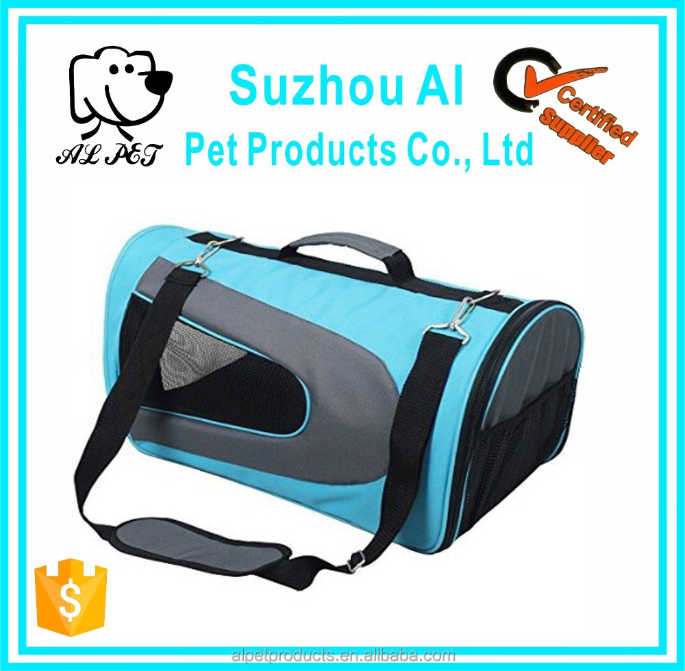 Soft Sided Dog Carrier Airline Approved Pet Travel Portable Bag Home for Dogs, Cats and Puppies