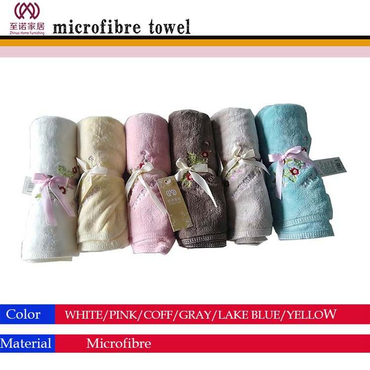2018 best selling home microfibre face towel