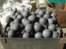 Hot rolling carbon forged steel ball on sale
