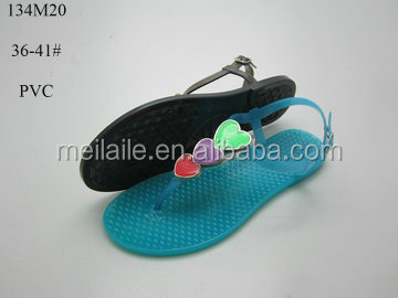 New fashion jelly lady sandal for women