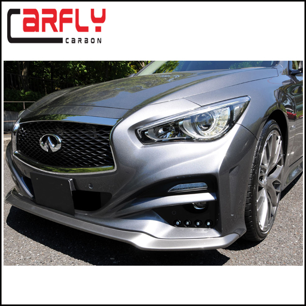 impul infiniti q50 q50s fiberglass front bumper for infiniti q50 q50s body kits 2014 up buy. Black Bedroom Furniture Sets. Home Design Ideas