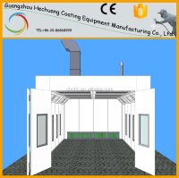 Rear Extraction Car Spray Booth China Factory with CE Approved