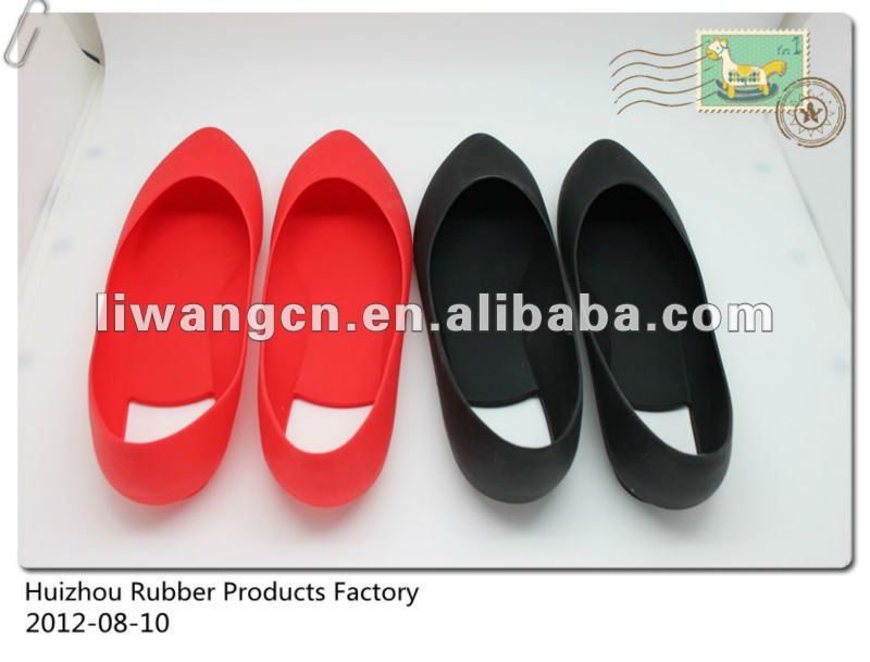 Silicon and rubber galosh shoe cover